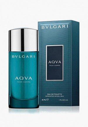 Туалетная вода Bvlgari Aqva Pour Homme, спрей, 30 мл. Цвет: прозрачный