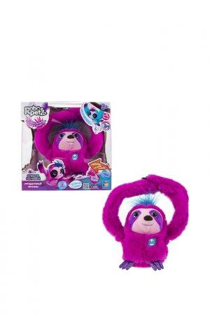 Интерактивный Ленивец 1toy. Цвет: розовый