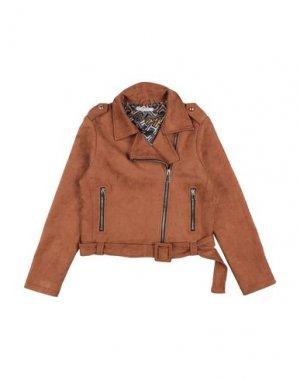 Куртка CUSTO BARCELONA. Цвет: верблюжий