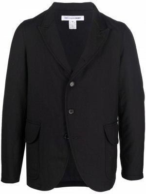 Шерстяной пиджак Comme Des Garçons Shirt. Цвет: черный