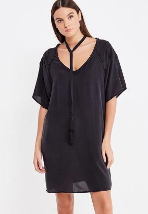 Платье Sacks Sack's. Цвет: черный