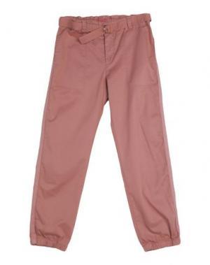 Повседневные брюки MAAN. Цвет: телесный