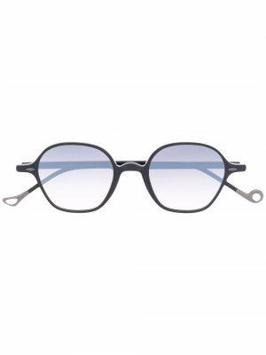 Солнцезащитные очки в закругленной квадратной оправе Eyepetizer. Цвет: черный