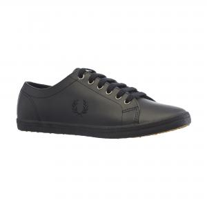 Кеды KINGSTON LEATHER Fred Perry. Цвет: черный
