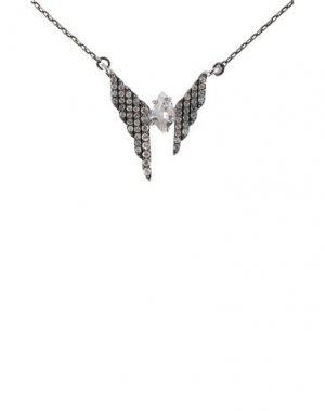 Ожерелье ALEXIS BITTAR. Цвет: серебристый