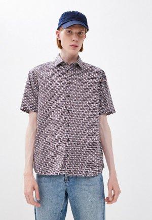 Рубашка Henderson. Цвет: разноцветный