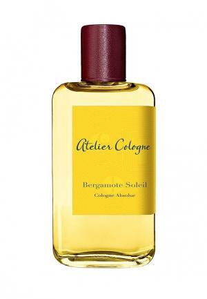 Парфюмерная вода Atelier Cologne BERGAMOTE SOLEIL Absolue 100 мл. Цвет: прозрачный