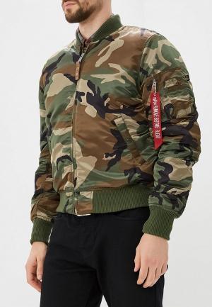 Куртка утепленная Alpha Industries MA-1 VF 59. Цвет: хаки