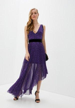 Платье Alice + Olivia. Цвет: фиолетовый