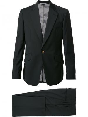 Классический костюм-двойка Vivienne Westwood Man. Цвет: чёрный