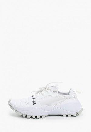 Кроссовки Calvin Klein Jeans. Цвет: белый