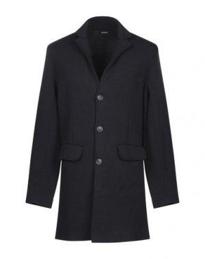 Пальто ALPHA STUDIO. Цвет: темно-синий