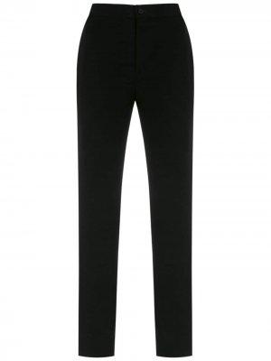 Side panels straight trousers Gloria Coelho. Цвет: черный
