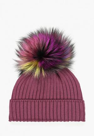Шапка Giamo. Цвет: фиолетовый