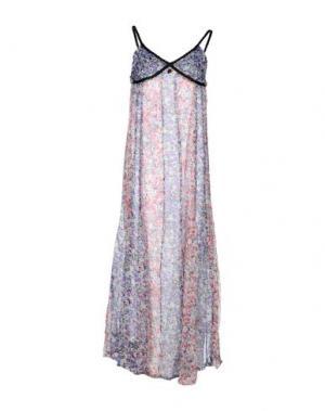 Платье длиной 3/4 EIGHTH SIN. Цвет: фиолетовый