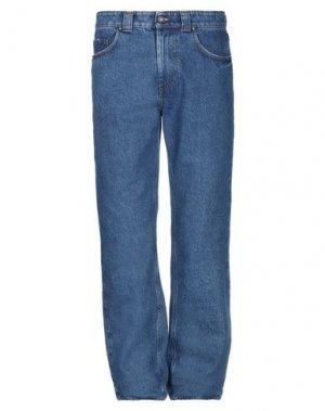 Джинсовые брюки NAPAPIJRI. Цвет: синий