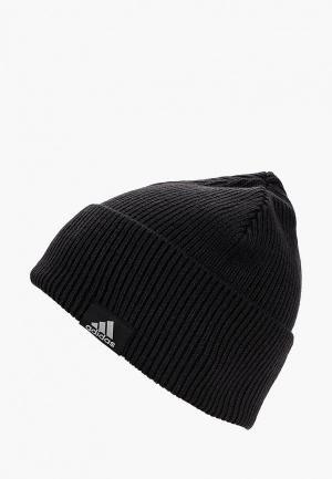 Шапка adidas PERF WOOLIE. Цвет: черный