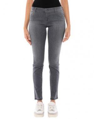 Джинсовые брюки CYCLE. Цвет: серый