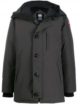 Утепленная куртка Canada Goose. Цвет: серый