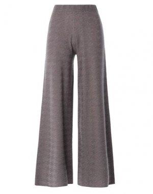 Повседневные брюки D.EXTERIOR. Цвет: серый