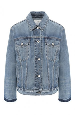 Джинсовая куртка Rag&Bone. Цвет: голубой