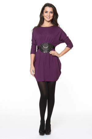 Платье-туника Piamente. Цвет: фиолетовый