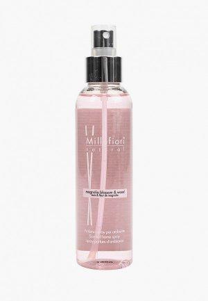 Духи интерьерные Millefiori Milano NATURAL 150 млЦветы магнолии и дерево /Magnolia blossom & Wood. Цвет: розовый
