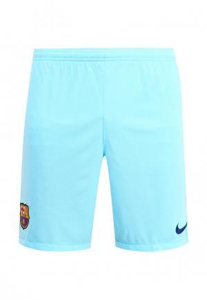 Шорты спортивные Nike FCB M NK BRT STAD SHORT HA. Цвет: голубой