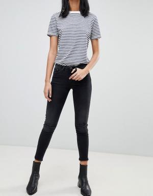 Укороченные джинсы скинни Sal-Черный Blend She