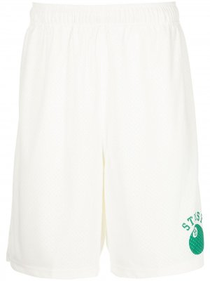 Сетчатые шорты 8-Ball Stussy. Цвет: нейтральные цвета