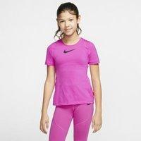 Футболка с коротким рукавом для девочек школьного возраста Nike Pro