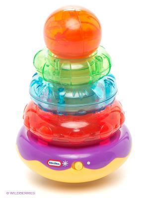 Игрушка Пирамидка Little Tikes. Цвет: зеленый, красный, фиолетовый