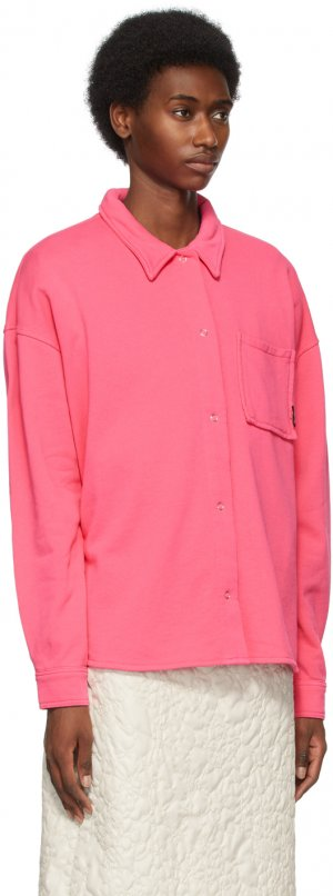 Pink Huron Shirt Stüssy. Цвет: pink