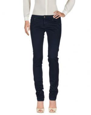 Повседневные брюки DAKS SPORT. Цвет: темно-синий
