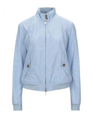 Куртка BARACUTA. Цвет: небесно-голубой