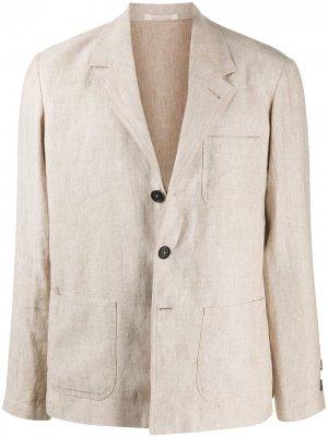 Пиджак свободного кроя Massimo Alba. Цвет: нейтральные цвета