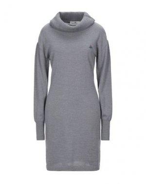 Короткое платье VIVIENNE WESTWOOD. Цвет: серый