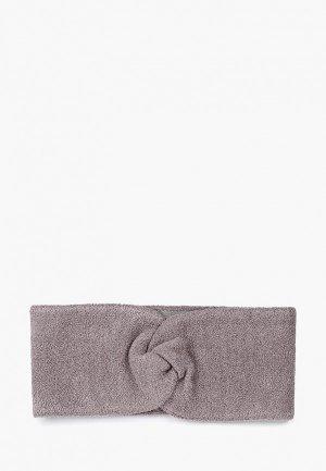 Повязка Forti knitwear. Цвет: серый