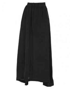 Длинная юбка 10SEI0OTTO. Цвет: черный