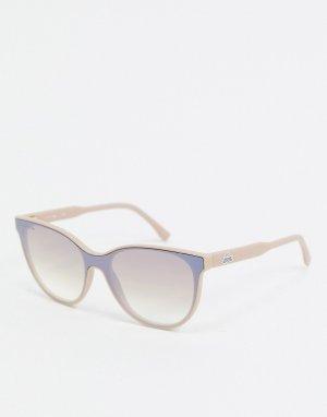 Солнцезащитные очки кошачий глаз Sport Inspired-Розовый Lacoste