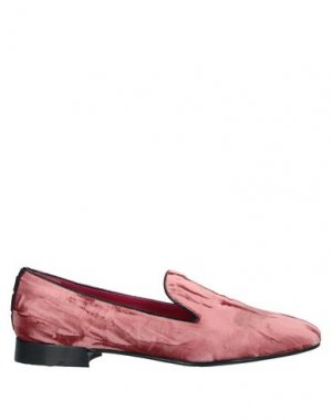 Мокасины 181 by ALBERTO GOZZI. Цвет: пастельно-розовый
