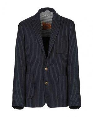 Пиджак ROŸ ROGER'S DE LUXE. Цвет: темно-синий