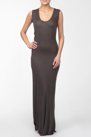 Платье джерси Enza Costa. Цвет: зеленый
