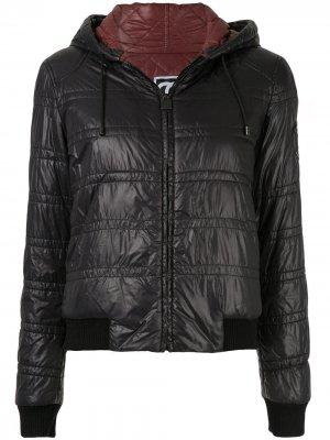 Куртка-бомбер на молнии Chanel Pre-Owned. Цвет: черный