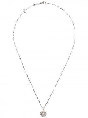 Цепочка с подвеской Happy Diamonds Icons из белого золота Chopard. Цвет: белый