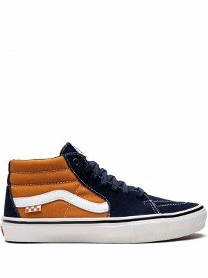 Кеды Skate Grosso Mid Vans. Цвет: синий