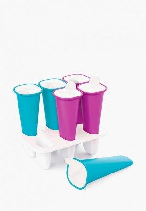 Набор форм для мороженого Zoku Summer Pop. Цвет: разноцветный