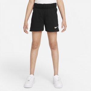 Шорты из ткани френч терри для девочек школьного возраста Sportswear - Черный Nike