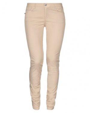 Повседневные брюки TRAMAROSSA. Цвет: песочный