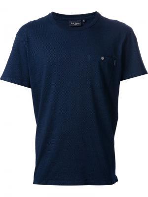 Футболки и жилеты Paul Smith Jeans. Цвет: синий